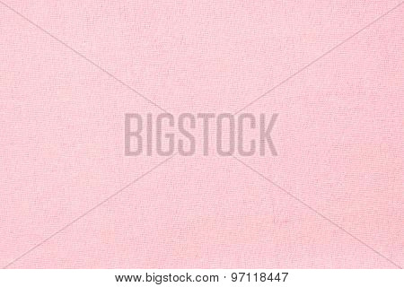 Pink Linen Texture - Close Up Of Textured Background