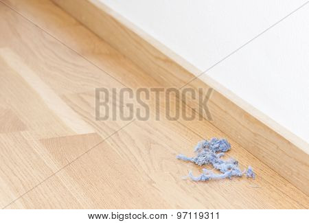 Blue Dust Rolls On The Floor