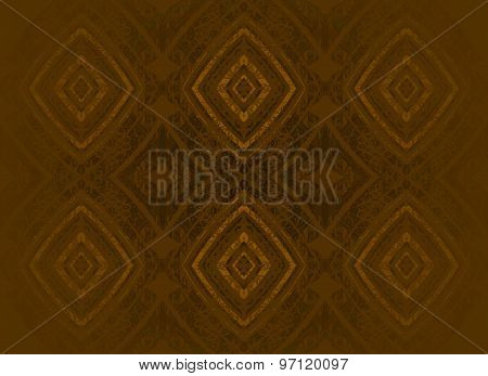 Seamless pattern golden brown shades