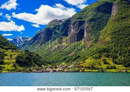 Sognefjord Scene