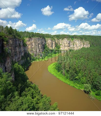 Hay River, Russia, South Ural