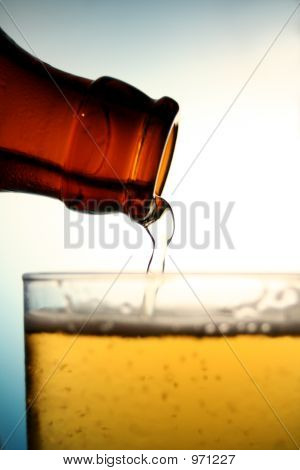 Pouring Beer 2