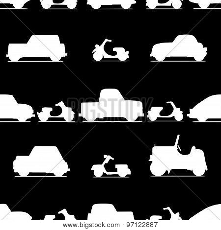 Car Seamless Pattern