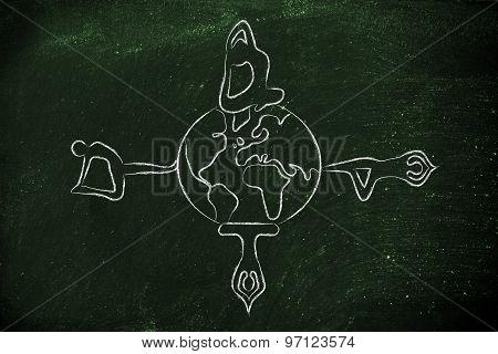 Yoga Meditation: Yogis Making Poses Around The World