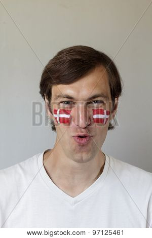 Displeased Danish Sports Fan