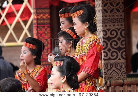 Group Of Indonesian Girl