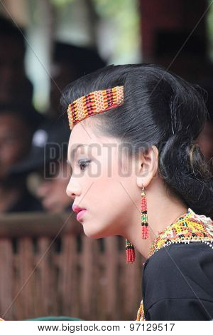 Portrait Of A Torajan Woman