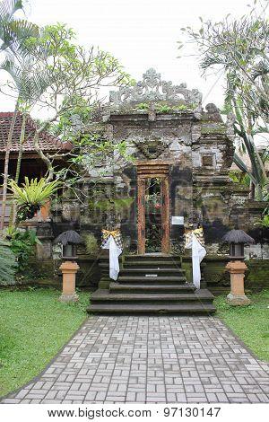Tower Inside Puri Saren Ubud