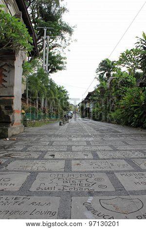 Ubud Walk Of Fame, Bali