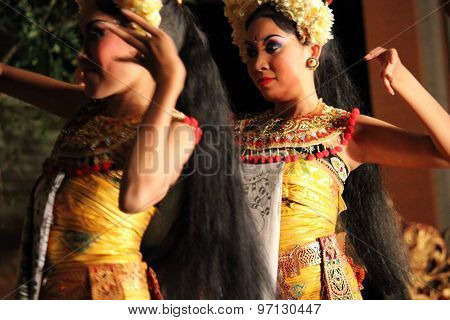 Balinese Traditional Dance Performance