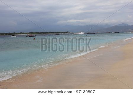 Tropical Indonesian Gili Islands