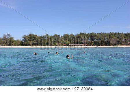 Peaceful View Of Gili Islands