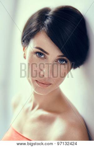 Fashion Brunette Portrait