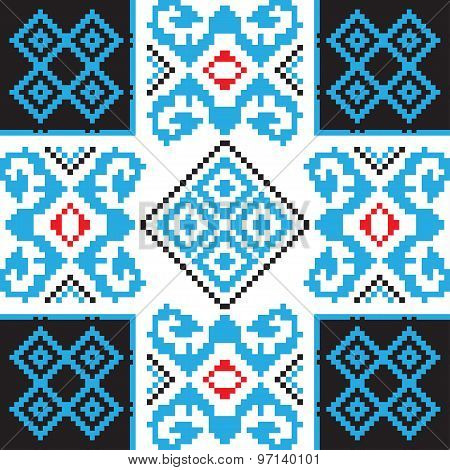 Ethnic Ornament, Seamless Pattern. Vector Illustration