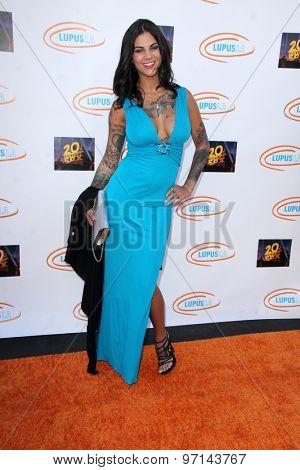 LOS ANGELES - JUN 6:  Elena DeSantis at the Lupus LA Orange Ball  at the Fox Studios on June 6, 2015 in Century City, CA