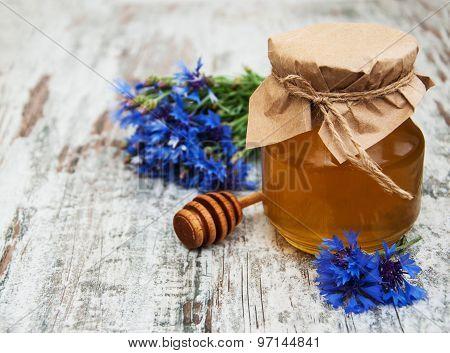 Honey And Cornflowers