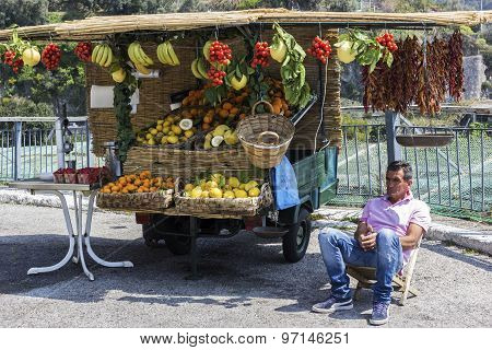 Italian Fruit-seller