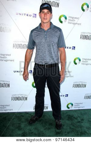 LOS ANGELES - JUN 8:  Brendan Fehr at the SAG Foundations 30TH Anniversary LA Golf Classi at the Lakeside Golf Club on June 8, 2015 in Toluca Lake, CA