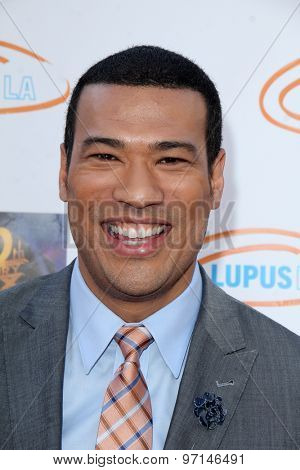 LOS ANGELES - JUN 6:  Michael Yo at the Lupus LA Orange Ball  at the Fox Studios on June 6, 2015 in Century City, CA