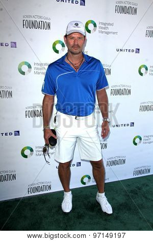 LOS ANGELES - JUN 8:  Jeffrey Nordling at the SAG Foundations 30TH Anniversary LA Golf Classi at the Lakeside Golf Club on June 8, 2015 in Toluca Lake, CA