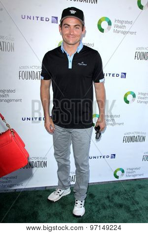 LOS ANGELES - JUN 8:  Kevin Zegers at the SAG Foundations 30TH Anniversary LA Golf Classi at the Lakeside Golf Club on June 8, 2015 in Toluca Lake, CA