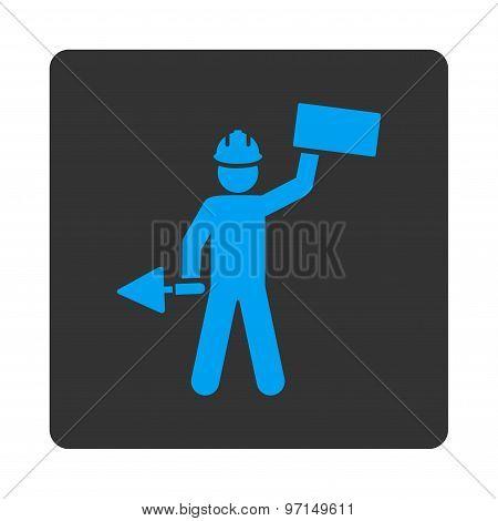 Builder icon from Basic Plain Icon Set
