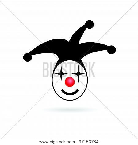 Jester Head Smile Vector