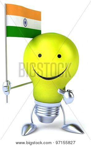 Fun light bulb