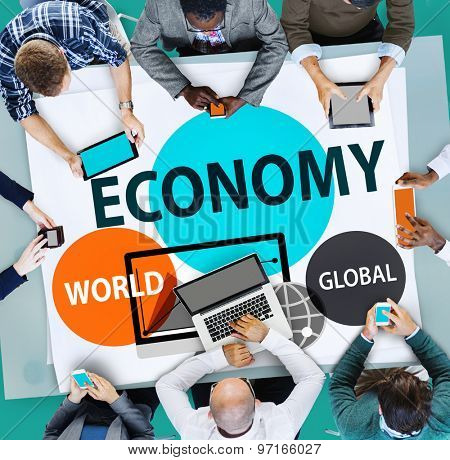 Economy Global Business Financial Concept