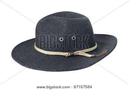 Dark Felt Hat