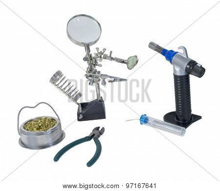 Soldering Tools Including Torch