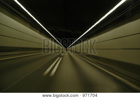 Speeding In Tunnel