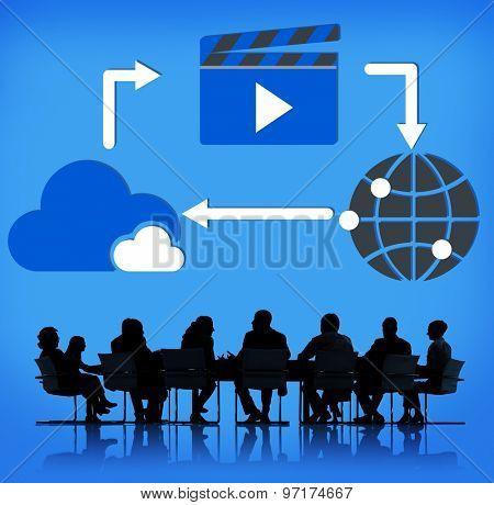 Media Computing Content Sharing Concept