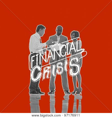 Financial Crisis Risk Economics Recession Concept
