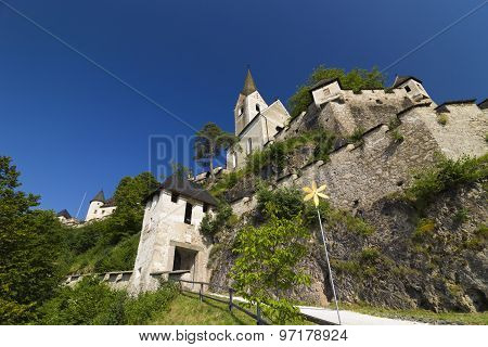 Austria - Hochosterwitz Castle Church