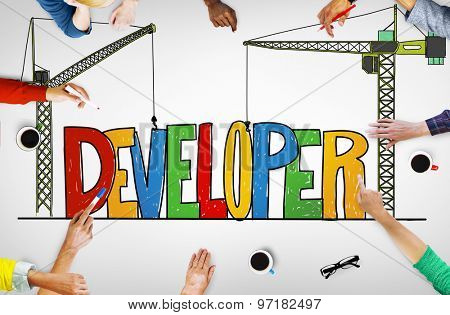 Developer Development Improve Skill Concept