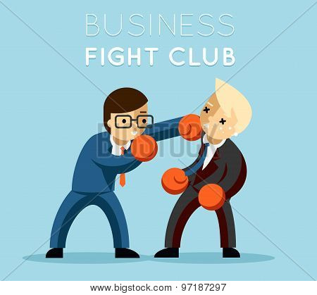 Business fight club