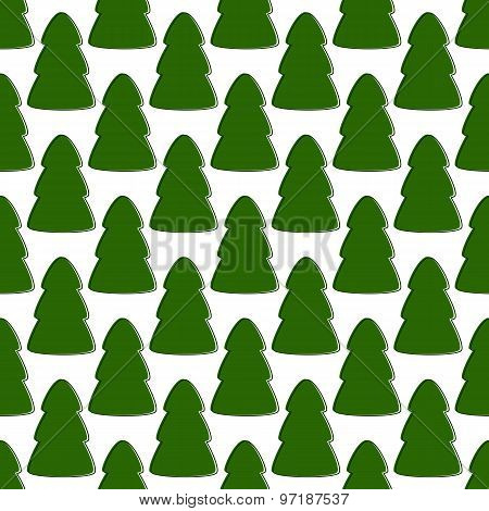 Pattern With Firs