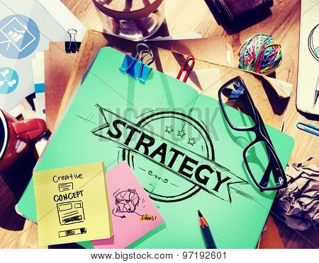 Strategy Planning Business Banner Concept