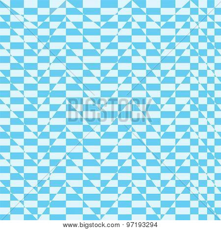 Blue And White Zigzag Line Background