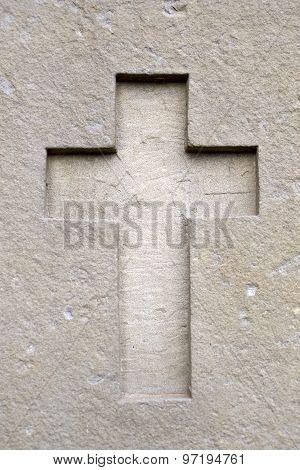 Cross In Wall