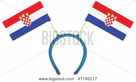 Witty Headdress Flags Croatia