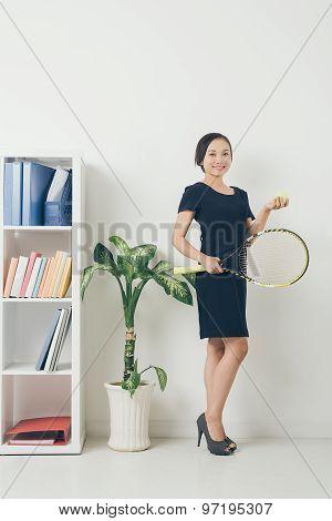 Sporty Business Lady