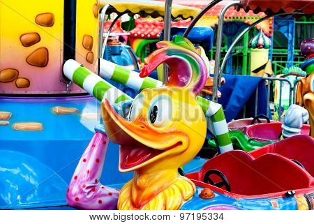 Children's Carousel Duckling