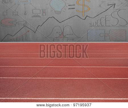 Running Track With Business Concepts Graphs