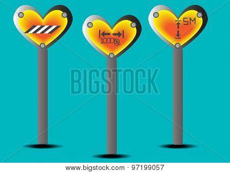 Traffic Sign Heart