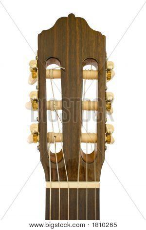 Acoustic Guitar, Close-Up