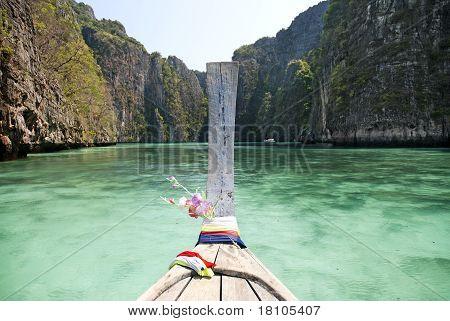 Ko Phi Phi Island In Thailand