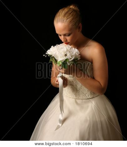Bride Posed Beautifully