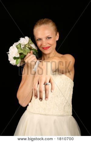 Bride With Ring